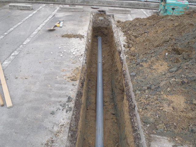 浄化槽→公共下水道切替工事【その2】