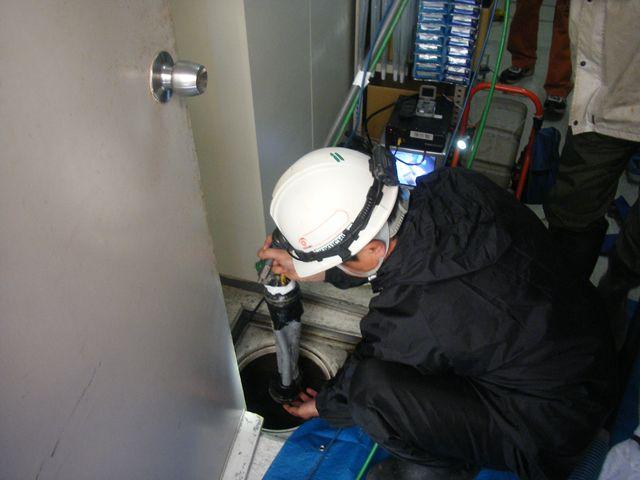 排水管 内面補修工事