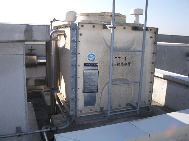 貯水槽清掃【高架水槽】