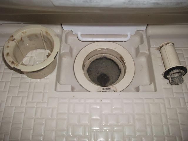 全館雑排水管清掃【その2・専有部清掃】
