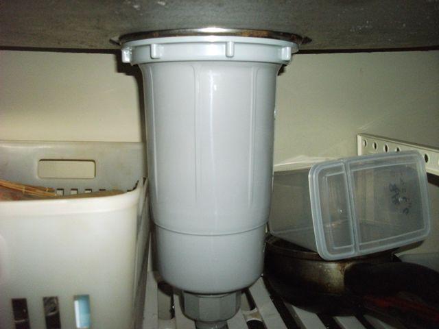 流し排水管水漏れ修理