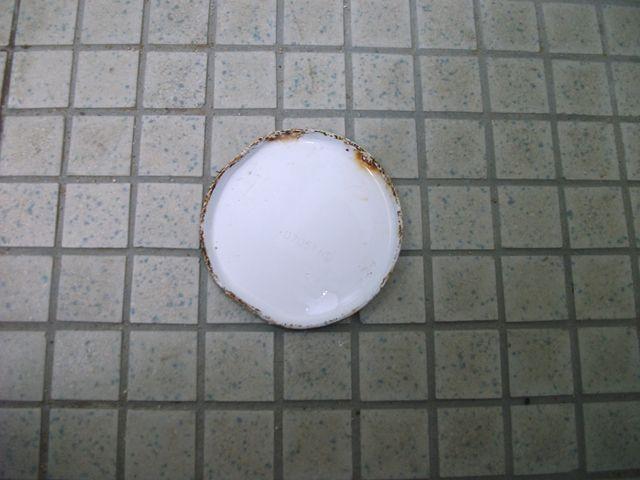 中学校 和式トイレ詰まり修理