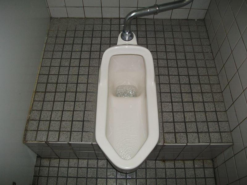 和式トイレ破損修理