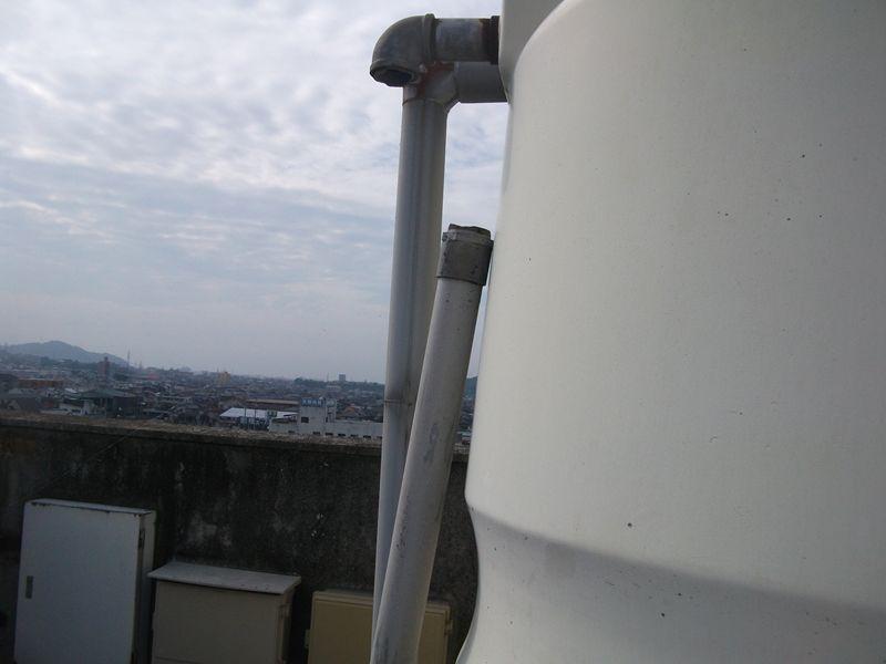 貯水槽清掃 【その1:高架水槽】
