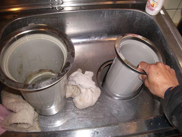 シンク下からの水漏れ修理