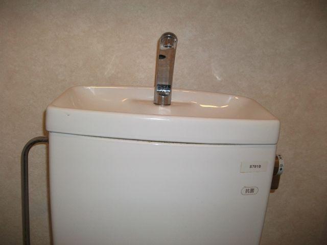 洋式トイレ給水不良修理
