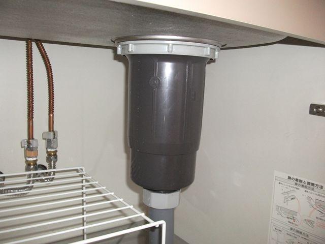 流しシンク下水漏れ修理