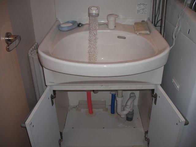 洗面蛇口水漏れ修理