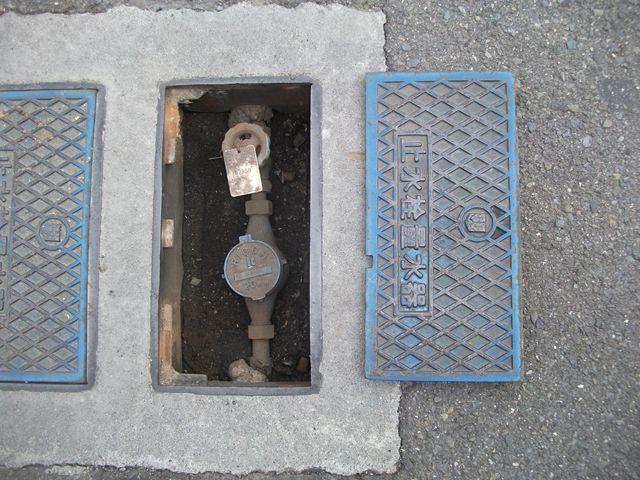 量水器BOX破損取替え修理