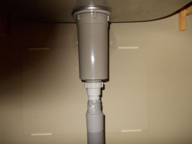 流しシンク水漏れ修理