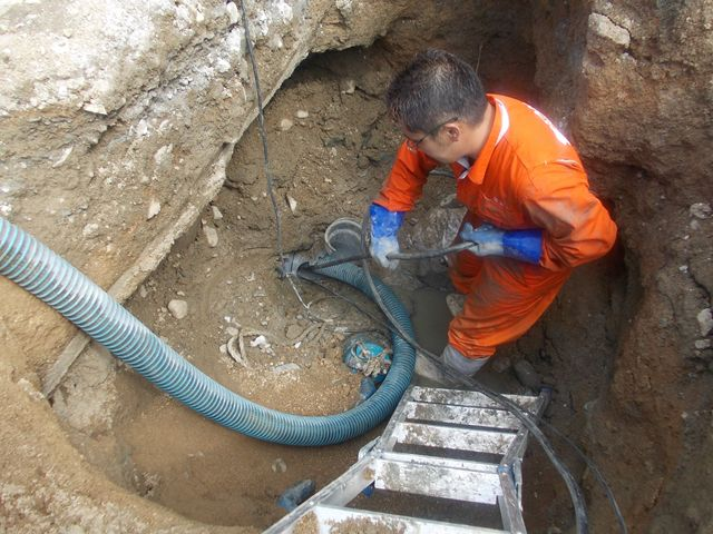 汚水本管・公共下水道本管 詰まり修理