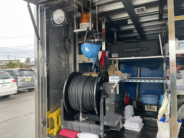 高圧洗浄車